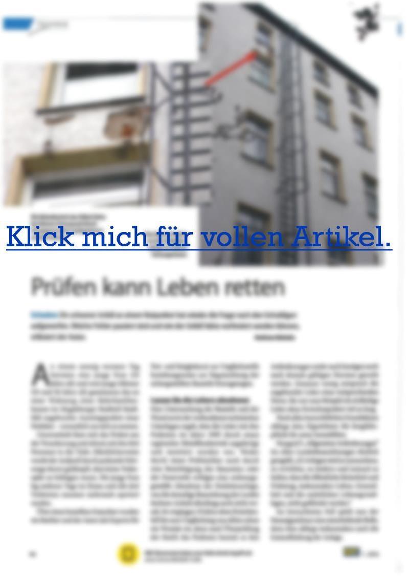 M&T Prüfen kann Leben retten Magdeburg Ankerzugprüfung